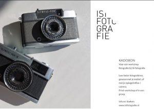 kadobon workshop fotografie iSi fotografie